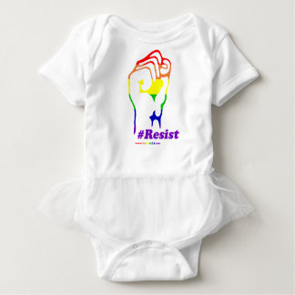 #Resist Baby Bodysuit