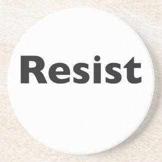 Resist Beverage Coasters