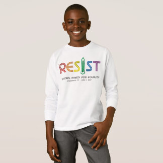 Resist Boy's Long Sleeve T-Shirt