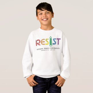 Resist Boy's Sweatshirt