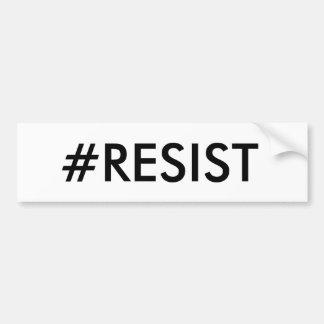 #RESIST Bumper Sticker