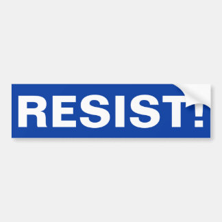 RESIST! BUMPER STICKER