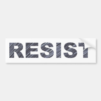 Resist Bumper Sticker | Anti-Trump Movement