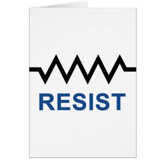 Resist Card