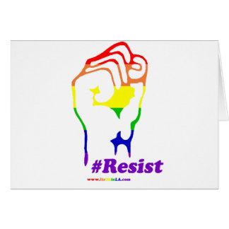 #Resist Card