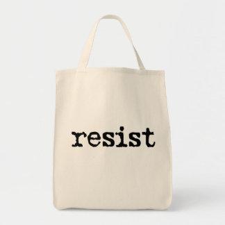 RESIST Cotton Tote Bag