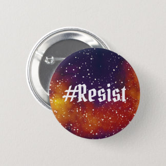 #Resist Customizable Galaxy Identity 2 Inch Round Button