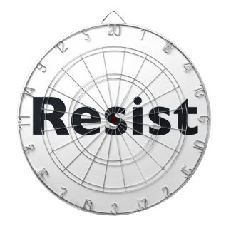 resist dartboard