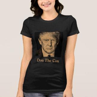 "Resist Donald Trump ""Don The Con"" T-Shirt"