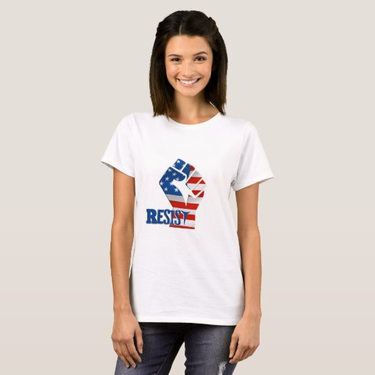 Resist Donald Trump Political Shirt