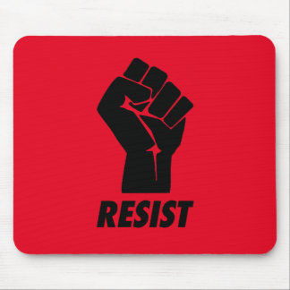 resist fist mouse pad