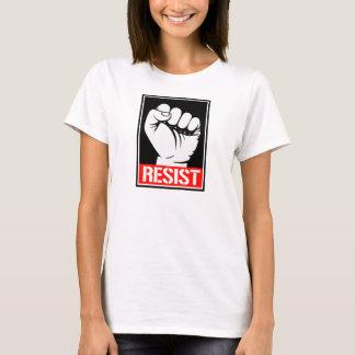RESIST FIST - RESUST TRUMP --  T-Shirt
