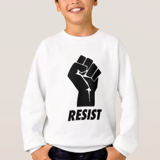 resist fist sweatshirt