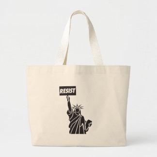 Resist_for_Liberty Large Tote Bag