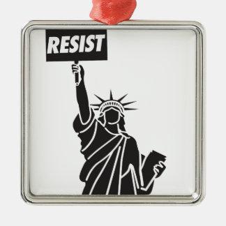 Resist_for_Liberty Metal Ornament
