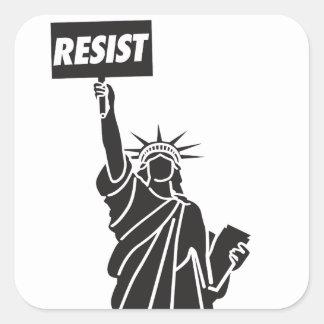 Resist_for_Liberty Square Sticker