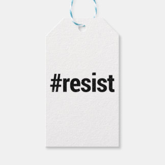 Resist Gift Tags