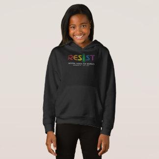 Resist Girl's Dark Hoodie