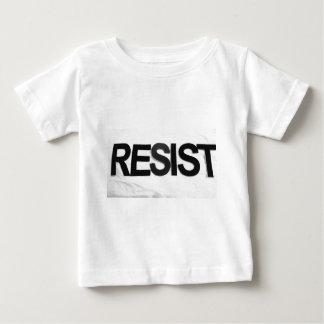 RESIST - handmade text by me rw Baby T-Shirt