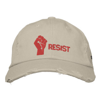 Resist Hat Embroidered Hat
