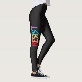 Resist in Rainbow Colors Leggings