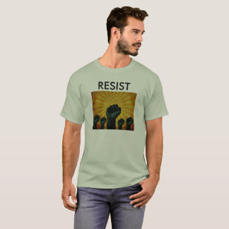 RESIST / INDIVISIBLE T-SHIRT with MAY DAY LOGO