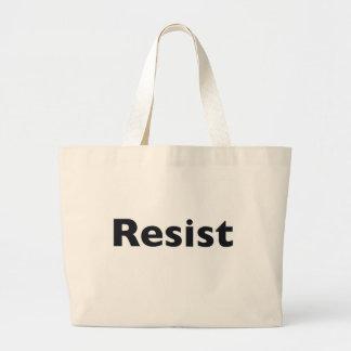 Resist Large Tote Bag