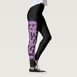 RESIST Leggings - Resistance Black & Purple