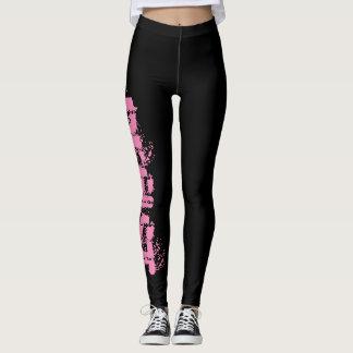 Resist Leggings - The Resistance Black and Pink