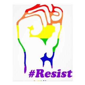 #Resist Letterhead