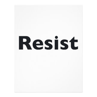 resist letterhead