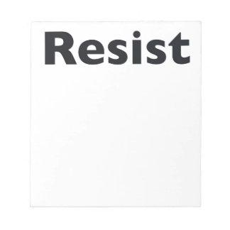 Resist Notepads