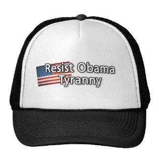 Resist Obama Tyranny Mesh Hat