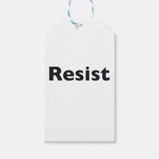 Resist Pack Of Gift Tags