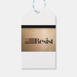 RESIST PACK OF GIFT TAGS