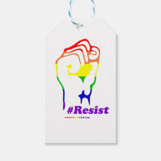 #Resist Pack Of Gift Tags