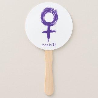 Resist! Paddle Fan