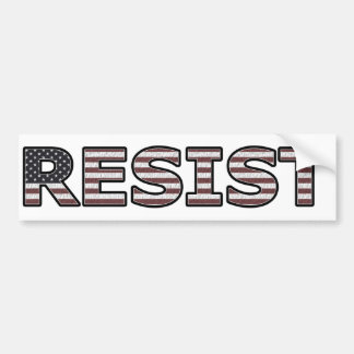RESIST - Patriotic Bumper Sticker