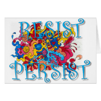 Resist Persist Card