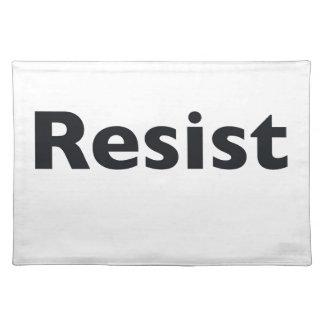 Resist Placemat