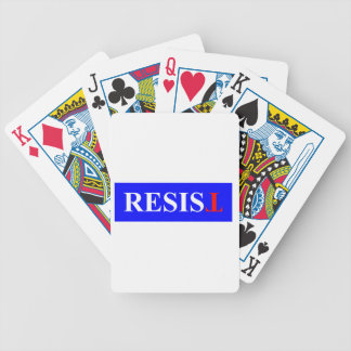 Resist Poker Deck