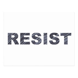 Resist Postcard   Anti-Trump Letter to Congress