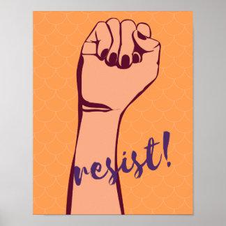 Resist! poster