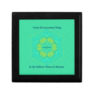 #Resist Protect Environment Anti-Trump Mandala Gift Box