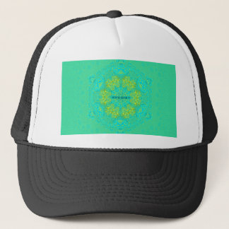 #Resist Protect Environment Anti-Trump Mandala Trucker Hat