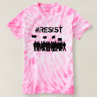 "#Resist  Protesters Anti-Trump"" Political T-shirt"