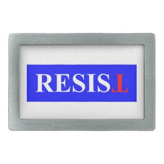 Resist Rectangular Belt Buckles