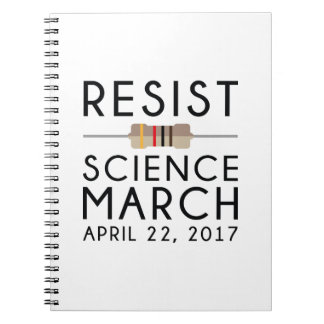 Resist Science March Notebook