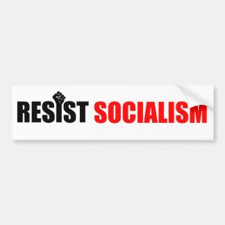 Resist Socialism Bumper Sticker