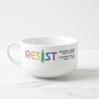 Resist Soup Mug